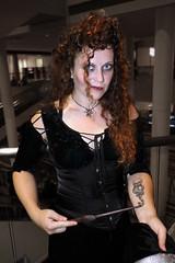 Bellatrix Lestrange (greyloch) Tags: dragoncon cosplay harrypotter 2016 costume bellatrixlestrange canonrebelt6s sexy pretty tattoo magic