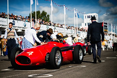 Niall Dyer and Simon Diffey - 1954 Maserati 250F at the 2016 Goodwood Revival (Photo 1) (Dave Adams Automotive Images) Tags: 2016 9thto11th autosport car cars circuit daai daveadams daveadamsautomotiveimages grrc glover goodwood goodwoodrevival hscc historicsportscarclub iamnikon lavant motorrace motorracing motorsport nikkor nikon period racing revival september sussex track vscc vintage vintagesportscarclub davedaaicouk wwwdaaicouk nialldyer simondiffey maserati 250f 1954maserati250f