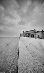 Hamburg Kunsthalle 6 b&w (rainerneumann831) Tags: hamburg kunsthalle linien architektur blackwhite