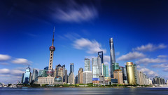 陆家嘴 (雷-燕) Tags: shanghai pudong skyline 上海 浦东 陆家嘴 天际线