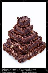 Lots of brownies (__Viledevil__) Tags: bake baked brown brownie brownies browny cake chocolate cocoa dark delicious dessert food gourmet homemade meal nutrition pyramid snack square stack sugar sweet tasty walnut