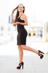 Ana Esther (ribadeluis) Tags: woman women malaga andaluca mujer modelo sesin vestido dress belleza retrato costa verano silueta portrait canon eos6d copito