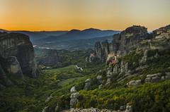 (ilanakri) Tags: meteora greece autumn sunset rocks mountain hill