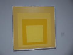 Josef Albers - Homage to the Square: Starting (c_nilsen) Tags: sanfrancisco california digital digitalphoto sanfranciscomuseumofmodernart museum art josefalberts painting