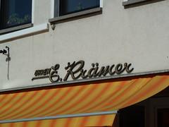 Alte Reklame_ Krämer