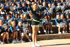 Aren't they cute ? (Prayitno / Thank you for (11 millions +) views) Tags: konomark young cute cutie little small tiny teenie girl girls child children cheerleader cheerleaders cheer leader competition sa sat san antonio riverwalk river walk tx texas day time outdoor activity
