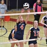 LEHS Varsity Volleyball vs St James (Playoffs round 2) 11-1-16