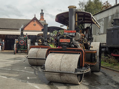 """Foxfield """"Anything goes"""" gala (Ben Matthews1992) Tags: foxfield railway steam engine tractionengine staffordshire uk greatbritain old vintage historic preserved preservation vehicle transport classic daveypaxman 16849 af3373 sm8832 11024 aveling porter fowler roller bf6234"""