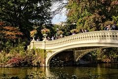 Central Park, NYC. (Fazia_) Tags: bowbridge centralpark newyork
