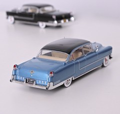 1955 Cadillac Fleetwood Serie 60 Special (Jeffcad) Tags: cadillac 1955 fleetwood serie 60s sixty special 143 greenlight die cast diecast scale model dagmars fins family fleet godfather fifties 50s car