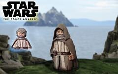 LEGO-Star Wars The Force Awakens: Luke Skywalker (I P R I M E I) Tags: lego starwars theforceawakens episodevii luke skywalker moc custom