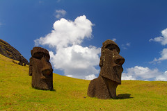 Chile & Easter Island-143.jpg (jameslindemann) Tags: 2013 chili easterisland isladepascua moai paaseiland polynesia ranoraraku rapanui rapanuinationalpark hangaroa valparaso chl