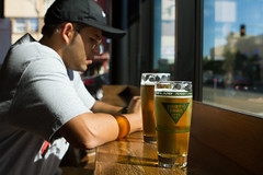 North Park Brewery (DoubleMGenius7) Tags: beer cider canon7d 2470mm28 nike sandiego lit sdfor23