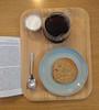 Sontag coffee cookie (kendradrischler) Tags: paris coffee cookie reading susansontag