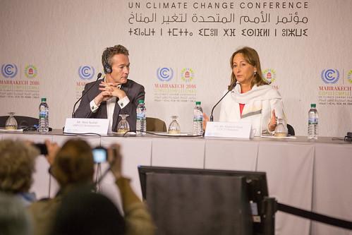 COP 21/ CMP 11 President Ms. Ségólene Royal