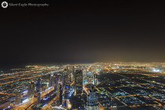 125th Floor, Burj Khalifa - Dubai - United Arab Emirates (Silent Eagle  Photography) Tags: sep silent eagle photography silenteaglephotography canon canoneos5dmarkiii dubai unitedarabemirates lights city high constrast silenteagle09 burj khalifa 125thfloor burjkhalifa iso50