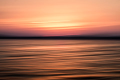 line_1706 (Valerie Guseva) Tags: sea seascape abstract water waves light lights long exposure surreal icm impression crimea russia smooth smudge hypnotic outdoor sky ocean horizon sunset clouds nature landscape seaside shore cloud line illusion sand warm