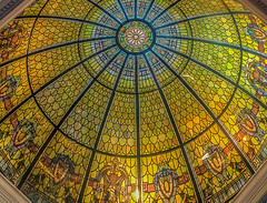 smaller_details (gerhil) Tags: travelphotography building architecture interior ceiling glass rotunda garden historic repurposed color light gesture autumn november2016 nikcolorefexpro4 roof indoor circle round atrium symmetry 1001nights