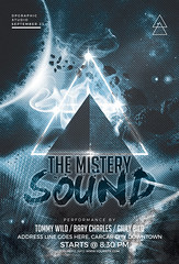 Mistery Sound Flyer PSD (DesignerwooArt) Tags: 300dpi 3d abstract advertising alien alternative artwork bass broken city cmyk design dj dope download drum electro event fest festival flyer free future futuristic galaxies galaxy geometry high hiphop house invitation man manipulation minimal minimalist minimalistic modern music party photoshop poster print psd rap rock sky smoke sound sounds space tech techno template trap triangle triangles trippy universe urban dubstep geometrix art hipster robot