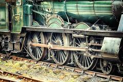 4920 Dumbleton Hall (Jeannie Debs) Tags: steam train wheels dumbletonhall