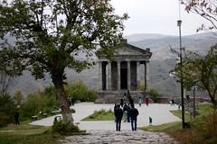 Pathway to Garni Temple (Marianna Gabrielyan) Tags: garni armenia pagan temple religion goght architecture historic buildings monuments canoneosdigitalrebelxti canonefs1855mmf3556isusm