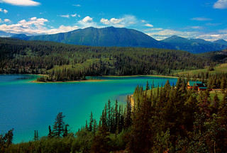 Canada: Yukon: Emerald Lake