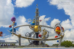 Astro Orbiter - Disney's Magic Kingdom (J.L. Ramsaur Photography (Thank You for 4 million ) Tags: jlrphotography nikond7200 nikon d7200 photography photo lakebuenavistafl centralflorida orangecounty florida 2016 engineerswithcameras magickingdom disneysmagickingdom photographyforgod thesouth southernphotography screamofthephotographer ibeauty jlramsaurphotography photograph pic waltdisneyworld disney disneyworld tomorrowland starjets waltdisney happiestplaceonearth wheredreamscometrue magical tennesseephotographer imagineering astroorbiter waltdisneyworldresort 1974 disneysastroorbiter astroorbiterride magickingdomsastroorbiter bluesky deepbluesky beautifulsky whiteclouds clouds sky skyabove engineeringasart ofandbyengineers engineeringisart engineering