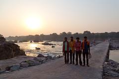 Locals at Betwa River