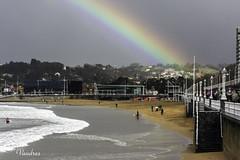 OV0410__249R_FLK (Valentin Andres) Tags: asturias gijon playa arco beach iris rainbow
