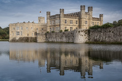 A Visit To Leeds Castle (ClydeHouse) Tags: leeds byandrew refelction maidstone castle kent moat leedscastle