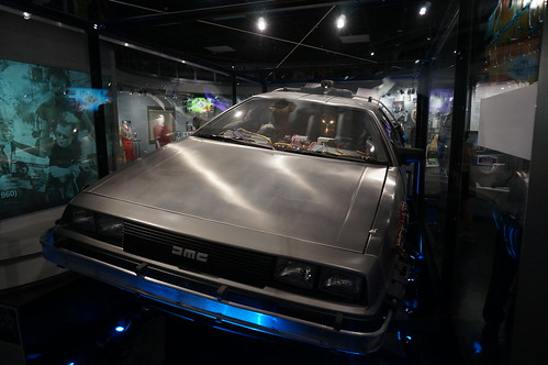 """Universal Studios: """"Hero A"""" DeLorean from Back to the Future • <a style=""""font-size:0.8em;"""" href=""""http://www.flickr.com/photos/28558260@N04/20497376486/"""" target=""""_blank"""">View on Flickr</a>"""