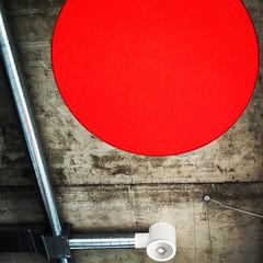 Red Light (David Abresparr) Tags: red stockholm ceiling redlight tak ventilation rtt rd lvsj innertak vivels vivelscaf