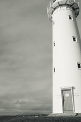 DSCF4319 (tomthejet) Tags: door new travel newzealand lighthouse white black monochrome plymouth adventure explore nz cape fujifilm taranaki egmont x100s