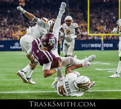 NCAA Football 2015: Arizona State vs Texas A&M SEP 05 (Trask Smith) Tags: college sports us football action tx houston asu texasam arizonastateuniversity aggies houstontx sundevils nrgstadium advocaretexaskickoff