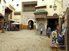 Place Najjarine (Raymonde Contensous) Tags: maroc médinadefès placenejjarine