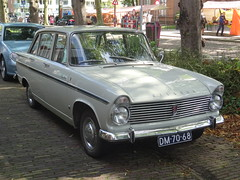 1965 Hillman Super Minx Mk III (harry_nl) Tags: netherlands nederland 2015 nieuwegein vreeswijk authentiekedag hillman superminx mkiii dm7068 sidecode1 import hcar