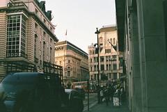 (WilCook) Tags: life uk travel england london film 35mm square 50mm exposure trafalgar underexposed