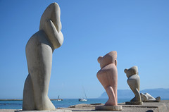 (golfi metafisici) - le spose del mare (Camillo diB ()) Tags: del italia sculture settembre sicilia golfo trapani castellammare contemplazione roccomarotta