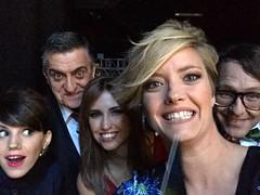 Angy en la alfombra roja de los Premios Iris 2015