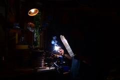 Le soudeur (fabien-Le) Tags: feux fume travaille soudure tincelle soudeur fabienleducqnikond5200soudurearc