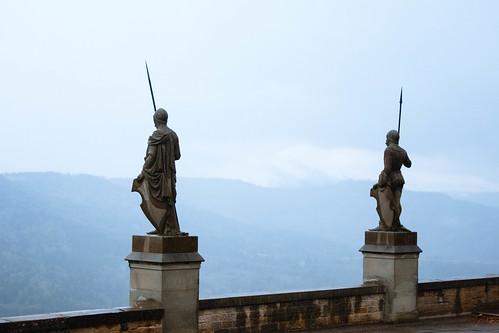 Gardes au château de Hohenzollern