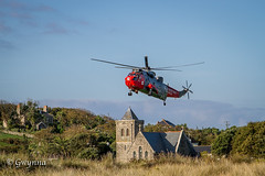 771 over Tresco (gwynna) Tags: helicopter scillies scillyisles