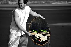 DSC_0127 (Travis Schuldt) Tags: blackandwhite beach water monochrome sport washington seaside movement sand outdoor pacificnorthwest pnw skimboarding bnw skimboard skimming belingham