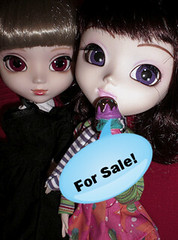 For sale (Again - on ebay this time!) ( ~Olivia~ ) Tags: for sale dal pullip rin prunella chicca stica kagamine