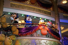 """Goofy, Donald, Pluto, Chip and Dale at Mickey's Mouse-querade Party • <a style=""""font-size:0.8em;"""" href=""""http://www.flickr.com/photos/28558260@N04/22640489678/"""" target=""""_blank"""">View on Flickr</a>"""
