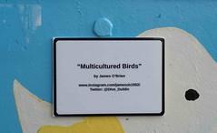 MULTICULTURED BIRDS BY JAMES O'BRIEN [DUBLIN CANVAS]-110315