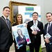 Stephen McNally Megan Elsey Minister Donohoe and Paul Byrne