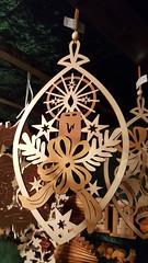 Winter's Beauty Wood Cut Out Christmas Ornaments (grinnin1110) Tags: night germany outdoors deutschland europe downtown illumination christmasmarket weihnachtsmarkt christmasdecorations markt altstadt oldtown mainz marktplatz marketsquare christmasornaments rheinlandpfalz rhinelandpalatinate