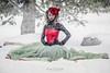 Snow Princess (lisavphotog) Tags: christmas snow holidays snowangels icegirl snowprincess
