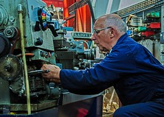 Nearly Fixed (Scottish Maritime Museum - SMM) Tags: museum scotland industrial volunteers scottish engineering machinery maritime adjustments irvine smm